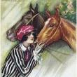 馬と女 5
