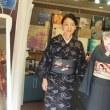 弓ケ浜木綿&自作すずめ帯・BEBE大嶋さんの工夫を少し