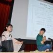 違い、分かり合える 障害者の倉田さんが講演