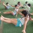 みどり・おれんじ 4・5歳児 戸外遊び・プール