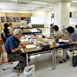 「水彩色鉛筆教室」8月は「諏訪湖の花火」