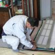 戸の不具合の修理