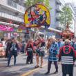 2017.08.05 中野区 鍋屋横丁 夏祭り: 「消防神輿」が行く
