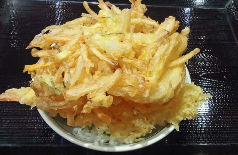 丸亀製麺の天丼