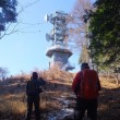 12月10日は快晴。秩父の城峰山に登りました。
