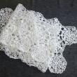 モチーフ編みのストール