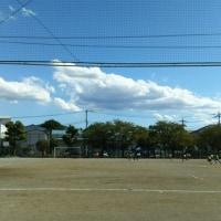 今日は練習試合です。