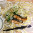 鮭食べて、がんばる。