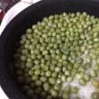 フェルトの赤ちゃんオモチャ『カエルのガラガラ』☆豆ご飯