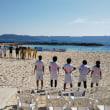 第2回ビーチサッカー沖縄カップ女子カテゴリー決勝 準優勝じゃ