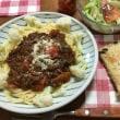 日曜お昼は スパゲティ