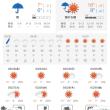 千葉は明日から良い天気が続きます。桜は満開を迎えます。