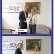 2017.9.22山口・美祢 美祢市教育委員会に子ども手帳贈呈