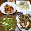6月21日(木)野菜と鱈の青海苔まぶし
