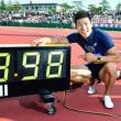 やった〜〜〜(^^ 〜桐生祥秀9秒98!100mで日本人初の9秒台〜