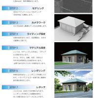 3DCG建築パース制作のながれ