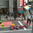 ハロウィンの渋谷スクランブル交差点