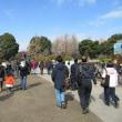 賑わう上野公園