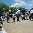 娘の幼稚園最後の運動会