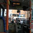バスを乗り換え行きます。