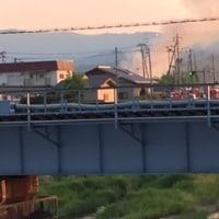相馬市の火事