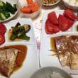 夏に作った晩御飯など