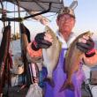 2017年9月30日、船夜釣りの釣果