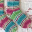 手編み靴下 作品NO.184