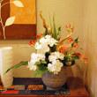 ディスプレイ用 造花アレンジ