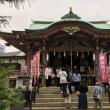 浅草 今戸神社 - 有馬良橘揮毫の社号標