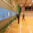2月8日 河辺市民センタ体育館の練習