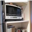 家電収納棚に小さな棚をプラス