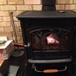 薪ストーブを焚いています。