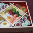 お雛様ケーキとお寿司~❤❤❤