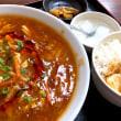 酸辣湯麺を頂きました。 at 創作居酒屋 海の宴