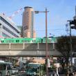浜松は遠州鉄道電車は「赤電」「青電」と新参の「緑電」 (2018年秋)
