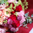 お花の束。