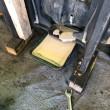 【店頭販売フォークリフト整備1】デフオイルに水が入ってしまったケース