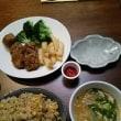 昭和の中華食堂気分で、がっつり食す夜(笑)