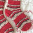 手編み靴下 作品NO.175