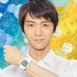 キシリトールが羽生選手プロデュースのGショックを1000名にプレゼント・キャンペーン&東武線池袋駅で羽生結弦展!