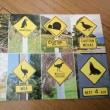 ニュージーランドの道路標識