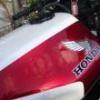 お客様のオートバイ・ホンダCB1100Rです。