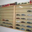 店内 ショーケースモデルカー収納作業