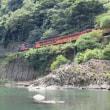 おまけの京都旅行 その1 ( 嵯峨野トロッコ列車と保津川下り )