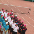県総合体育大会 女子テニス