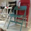 スチールの椅子!