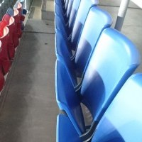 俺の席の椅子が・・・@日産スタジアム