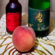 カクテル第180夜 Bellini with living white peach