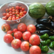 夏野菜がたくさん採れてます。